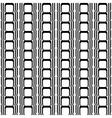 Design seamless vertical geometric pattern vector image