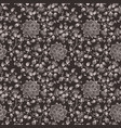 flower seamless pattern background elegant vector image vector image