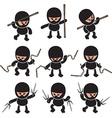 Ninja Cartoon design vector image vector image