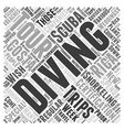 scuba diving and snorkeling trips in costa rica vector image vector image
