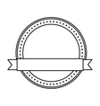 seal with ribbon isolated icon design vector image vector image