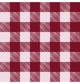 Seamless texture of red plaid vector image