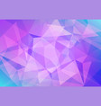 abstract horizontal triangle background vector image