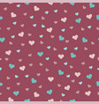 beautiful seamless pattern with on a pink vector image vector image