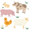 Farm animals set 1 vector | Price: 1 Credit (USD $1)