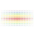 gear spectral halftone matrix vector image