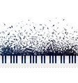 a lot different musical notes and signs vector image