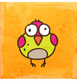 Bird Cartoon vector image vector image