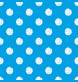 chestnut pattern seamless blue vector image vector image