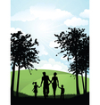family park vector image