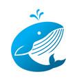 fish initial logo concept creative vector image vector image