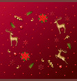 holiday new year background vector image vector image