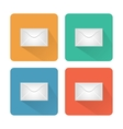 Icon messages in the form of an envelope vector image
