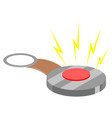 joke hand buzzer vector image vector image