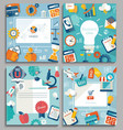 set business concepts vector image vector image
