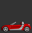 Smart roadster vector image
