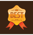 best gold vector image vector image