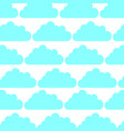 cloud sky pattern background vector image