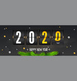 countdown to new year counting last moments vector image vector image