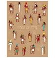 gods egypt vector image