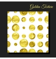Golden glitter seamless background vector image