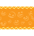 Halloween background seamless vector image vector image