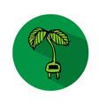 hand drawn tree icon vector image vector image