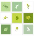 Leaf - Set of posters design elements vector image vector image
