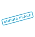 Shisha Place Rubber Stamp vector image vector image