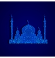 silhouette Arab temple vector image vector image