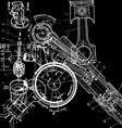 technical drawingxa vector image vector image