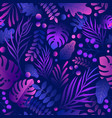 trendy gradient curve creative lush tropical vector image vector image