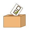 vote related icons image vector image