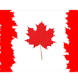 Canadian maple leaves symbol vector image vector image