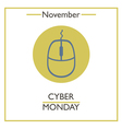 Cymer Monday vector image vector image