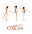 Dancer design vector image vector image