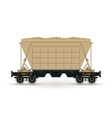 Hopper Isolated on White vector image vector image