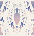 pattern of ancient greek amphora and vector image vector image