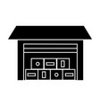 logistics warehouse icon vector image