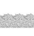 oriental wave seamless wallpaper vector image vector image