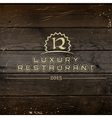 Restaurant badges logos and labels for any use vector image vector image