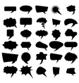Set of Different Speech Bubbles vector image