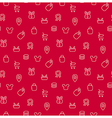 Trade sale background seamless pattern vector image vector image