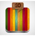 wooden app icon