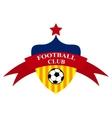 logo design Football Club vector image
