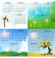 calendar vector image vector image