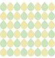 raindrop shape repeating seamless pattern desig vector image vector image
