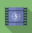 Icon of Film Frame Cinema Film Flat style vector image