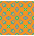Abstract seamless pattern with fractal star on vector image vector image