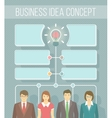 Business Idea Infographics vector image vector image